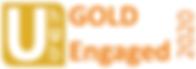 UhUb GOLD Engaged Accreditation Logo dat