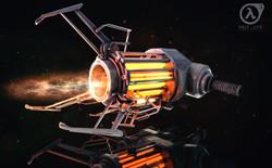 Gravity Gun - render and comp