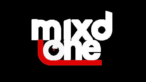 Mixd One White Transparent Logo Un Compr