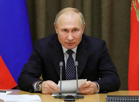 Russian President Putin  announces Covid-19 Vaccine
