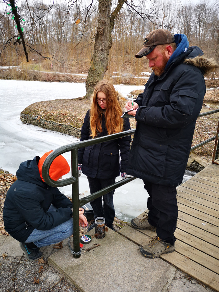 Inspecting the geocache