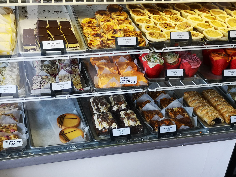 Pastries from the Paris Bakery