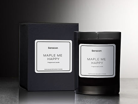 seracon-candles-mockup MAPLE ME HAPPY.jp