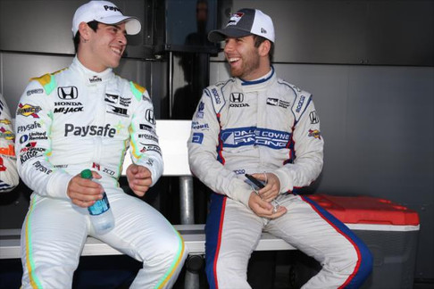 CLAMAN DE MELO IN FRAME FOR INDYCAR OPPORTUNITY