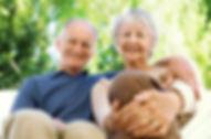 Cheerful personnes âgées