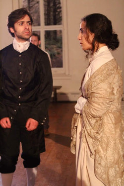 Samantha Wendorf as Elizabeth Proctor in Arthur Miller's The Crucible