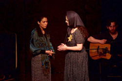 Samantha Wendorf as The Refugee in World Premiere of Upstander Bystander: From Camp to Camp