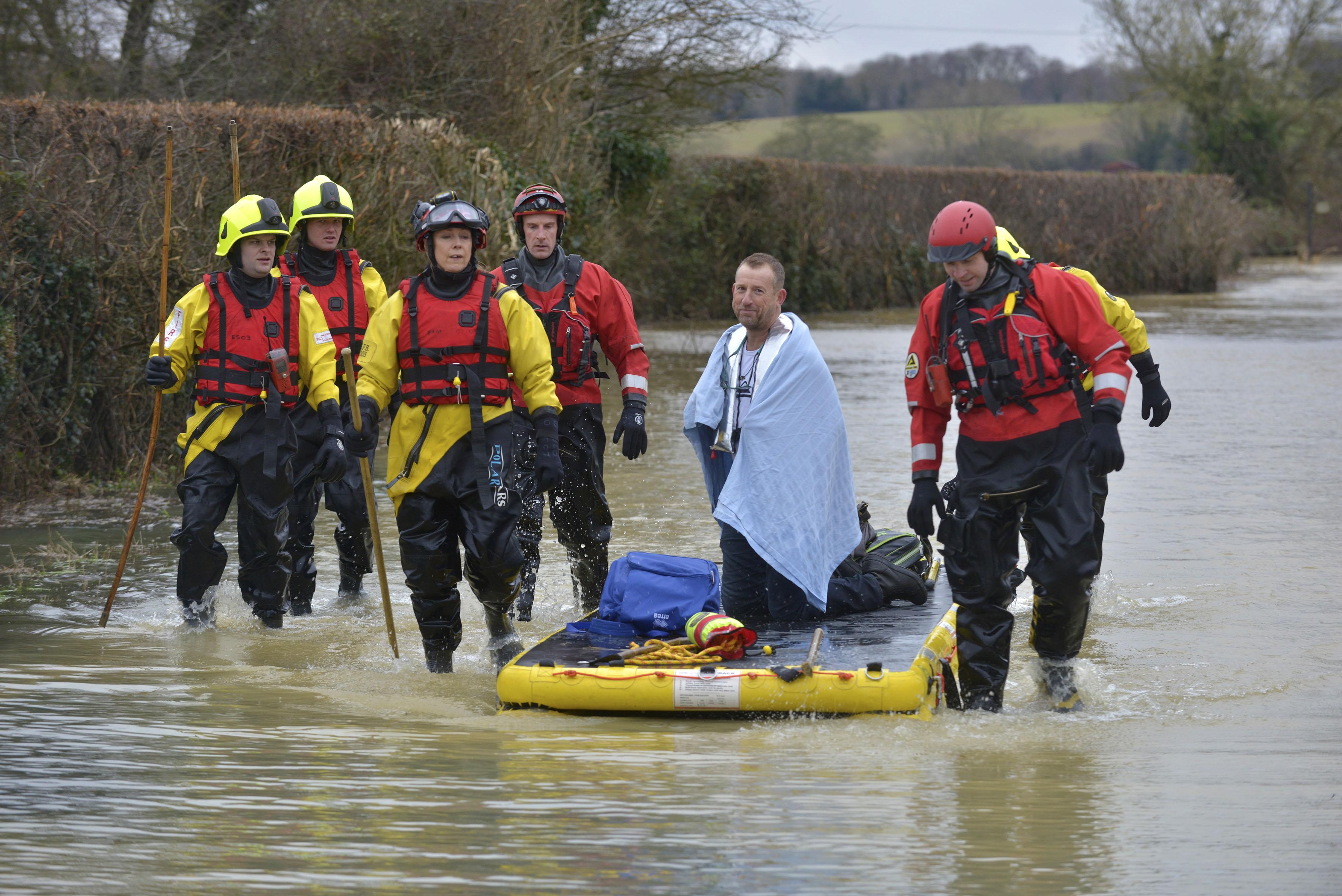 Barcombe Mills flood