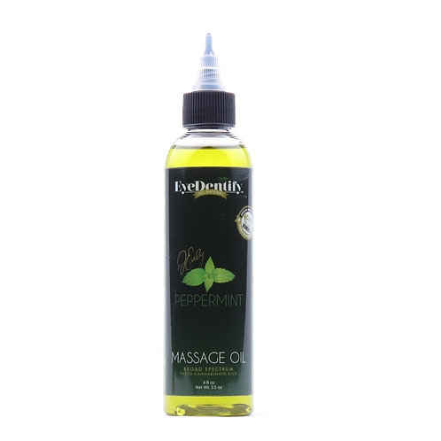 Hemp CBD Massage Oil - Peppermint