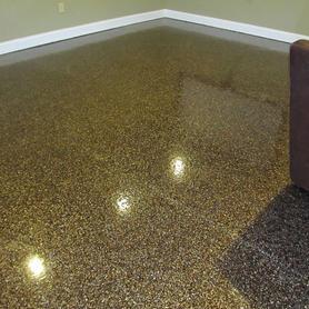 Quartz Floors in Basement 10