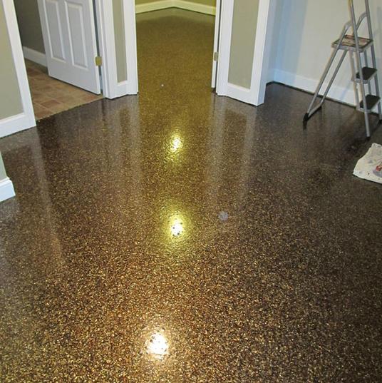 Quartz Floors in Basement 09