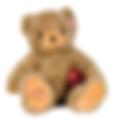bear stuffed animal with baby heartbeat