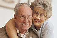 smiling senior couple | geriatric medicine concept