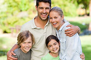 happy healthy family | family healthcare concept