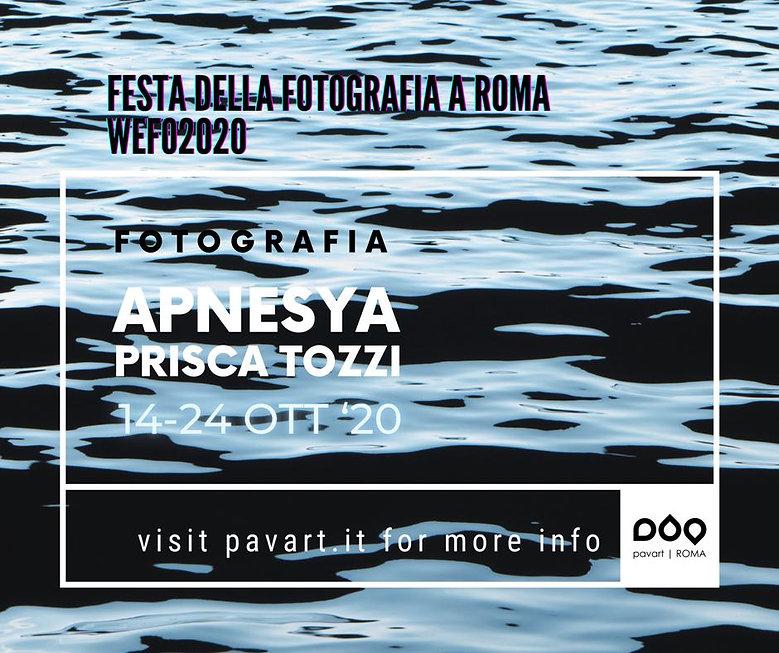 invito mostra apnesya 14 24 ottobre 2020