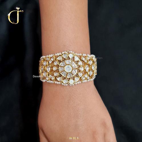 Polki Hand Bracelet