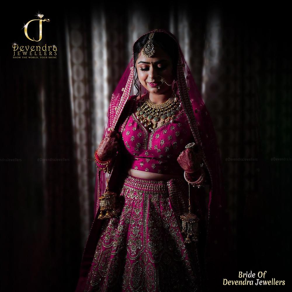 Bride of Devendra Jewellers