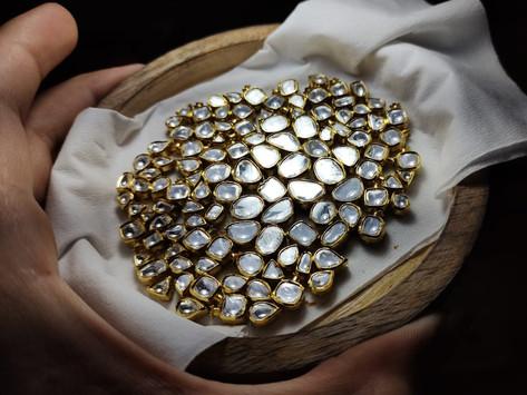 Jadau Jewellery Manufacturing - Everything you should know about polki and jadau jewellery