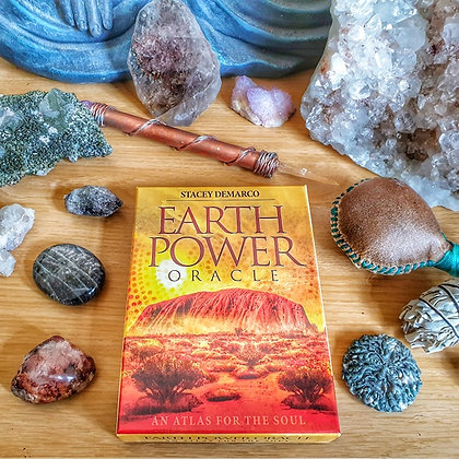 Earth Power Oracle Reading - 6 Card Reading