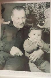 Анжела Ободзинская с дедушкой Володей