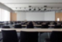 Konferenční sál, ozvučení a projekce