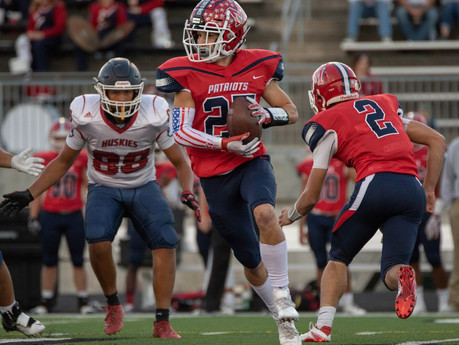 Storm, Patriots set to clash in top ten Friday night battle