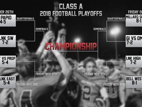 Playoffs: 2018 Class A football schedule and scores