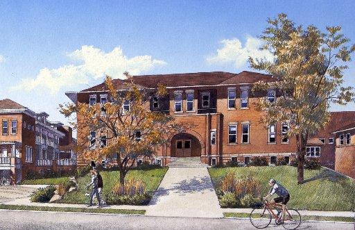 Schoolhouse Rendering
