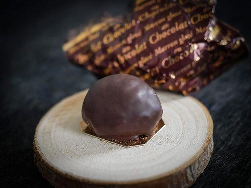 Marron au chocolat ou givré au cognac