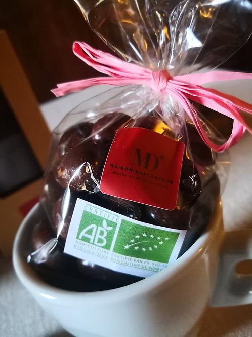 FÈVES Sierra Léone enrobées de chocolat Sierra Léone au Lait 45%