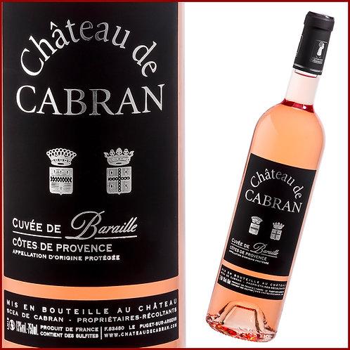 Château Cabran - Cuvée Baraille -2018-Rosé