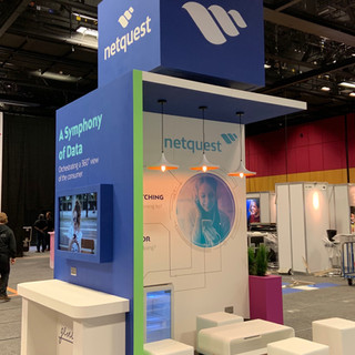 Netquest UK 'Island' stand