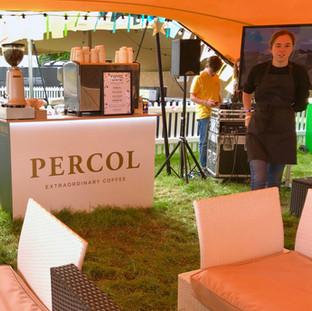 Percol Carfest VIP coffee sponsorship