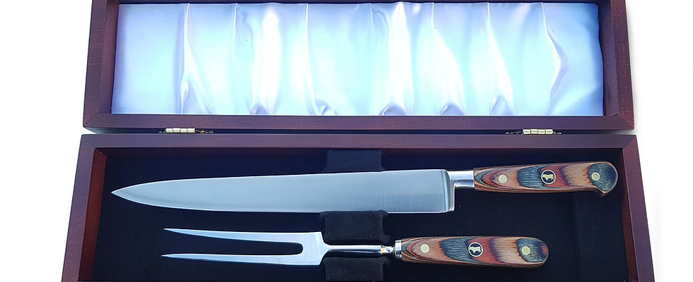 10 inch Carving knife set - Earth