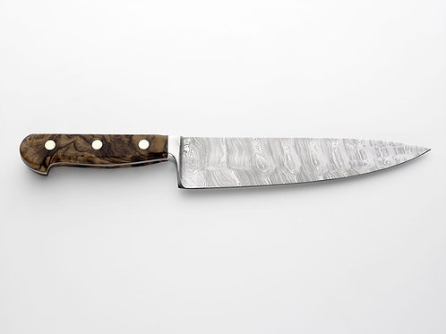"Damascus Forged Steel - 10"" Cooks"