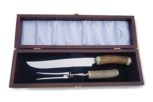 Carving Sets - Stag