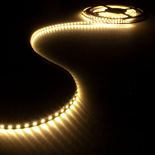 ROULEAU RUBAN LED SLIM 7,2W/m 112 LEDs/m 3000K -30204