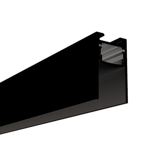 PROFIL ALUMINIUM NOIR 2000 x 37 x 20,9 mm URBAN PROFIL  2137 - 40120