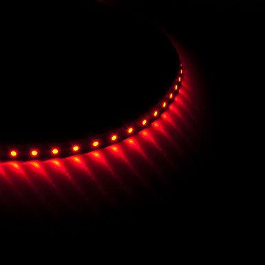 SECTION 62,5mm RUBAN LED 7,7 W/m 96 LEDs/m ROUGE - SUR3528R96