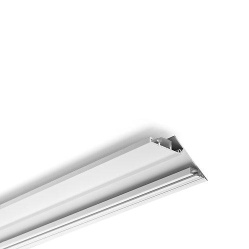 PROFIL ALUMINIUM BLANC 2000 x 73,2 x 30,2 mm URBAN PROFIL 7330 TRIMLESS - 40200