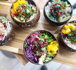Green Keli Coconut bowls