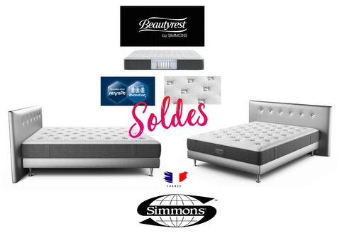 Simmons Literie Soldes