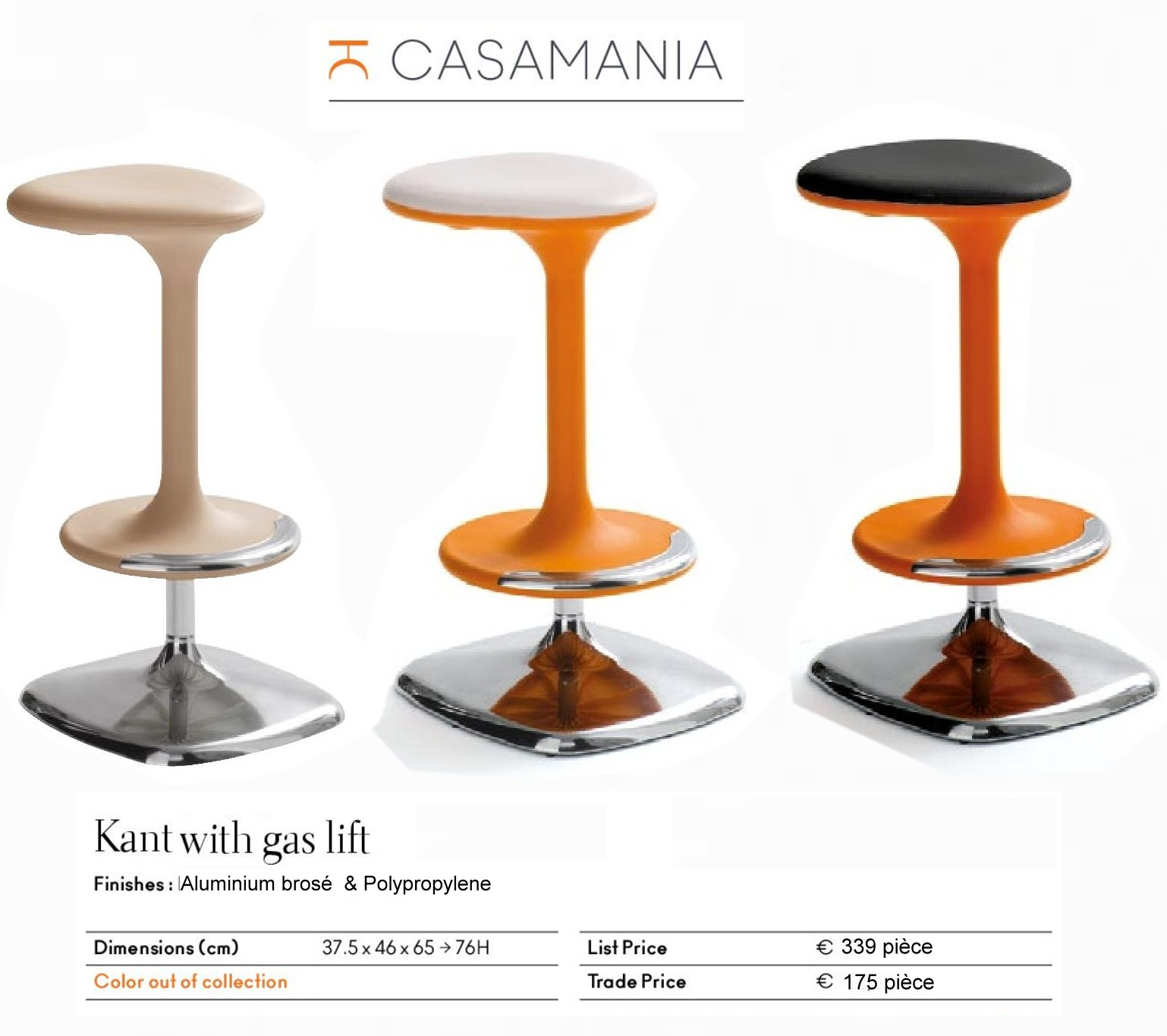 Tabouret Kant casamania