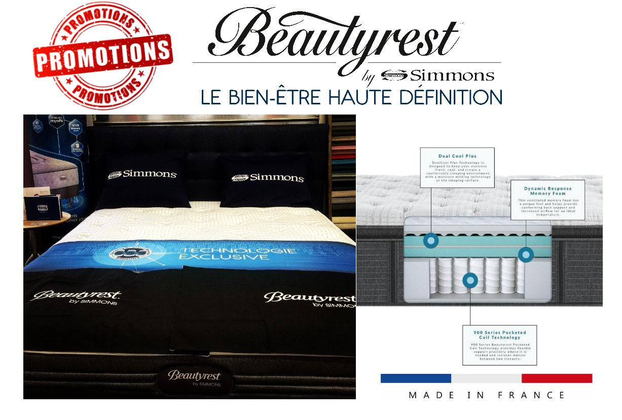 Promotion Simmons France