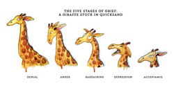The Five Stages of Grief: Giraffe St