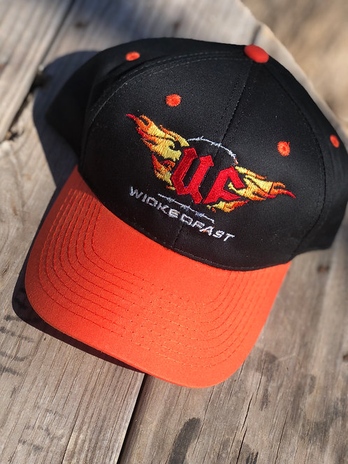 WF Flame black Cap