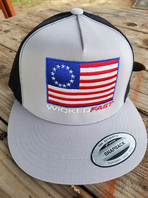 Limited Edition Betsy Ross Flag and Wicked Fast Snap Back