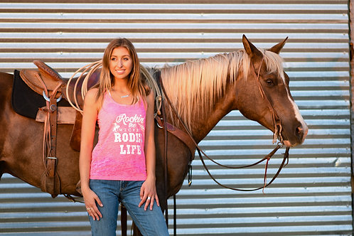 Rockin the Wicked Rodeo Life tank
