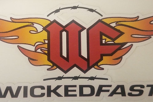 "WF 5"" Bumper Sticker"