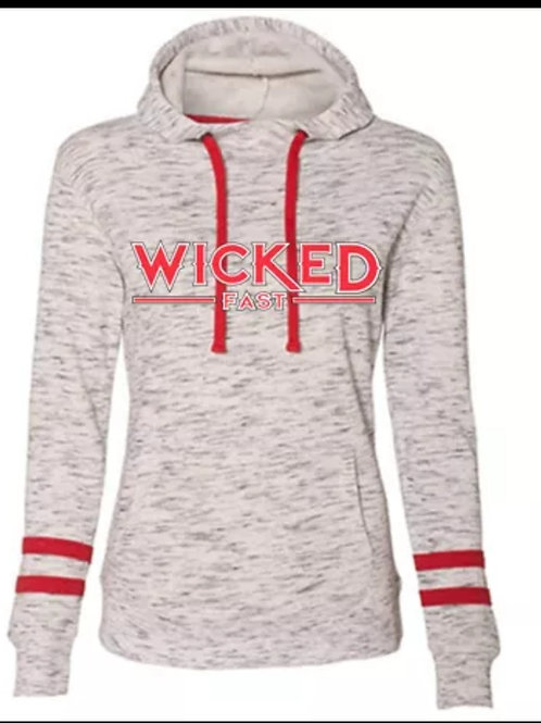 Wicked Fast Ladies Melange Fleece Hoodie